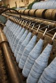 Wool on spindles ready to craft